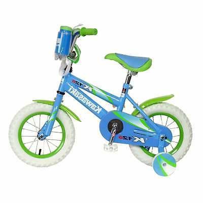 Kawasaki Monocoque Kid's Bike, 12 inch Wheels, 8 inch Frame,