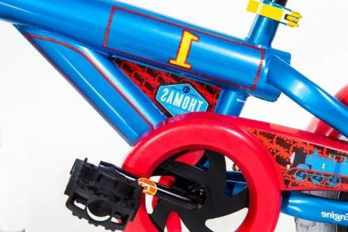 """Blue//Red//Black Dynacraft Thomas The Train Boys Bike with Realistic Sounds 14/"""""""