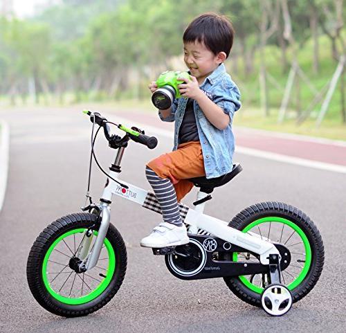 "RoyalBaby 16"" Bicycle Kids, Blue"
