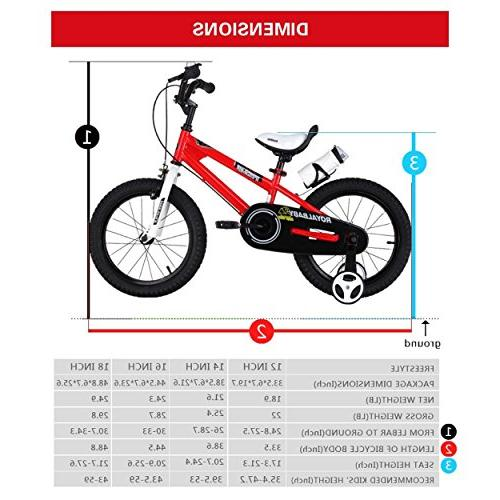 Royalbaby BMX Bike, 12 Red