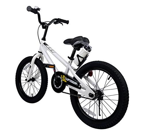 Royalbaby BMX Kids and training wheels, children, 18 White