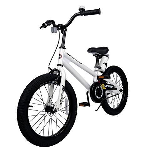 Royalbaby RB18B-6W BMX Freestyle Kids Bikes and training Gifts children, White