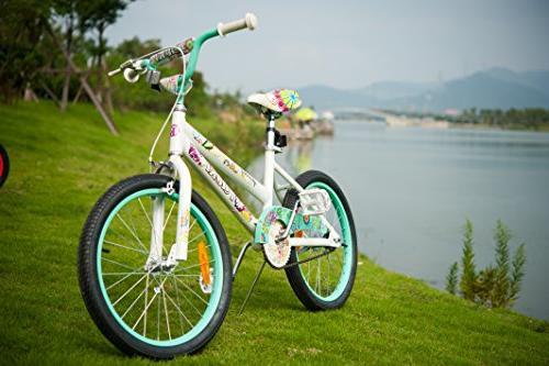 Tauki 20 Girls Bike, Bike Years Old, Green, Assembled