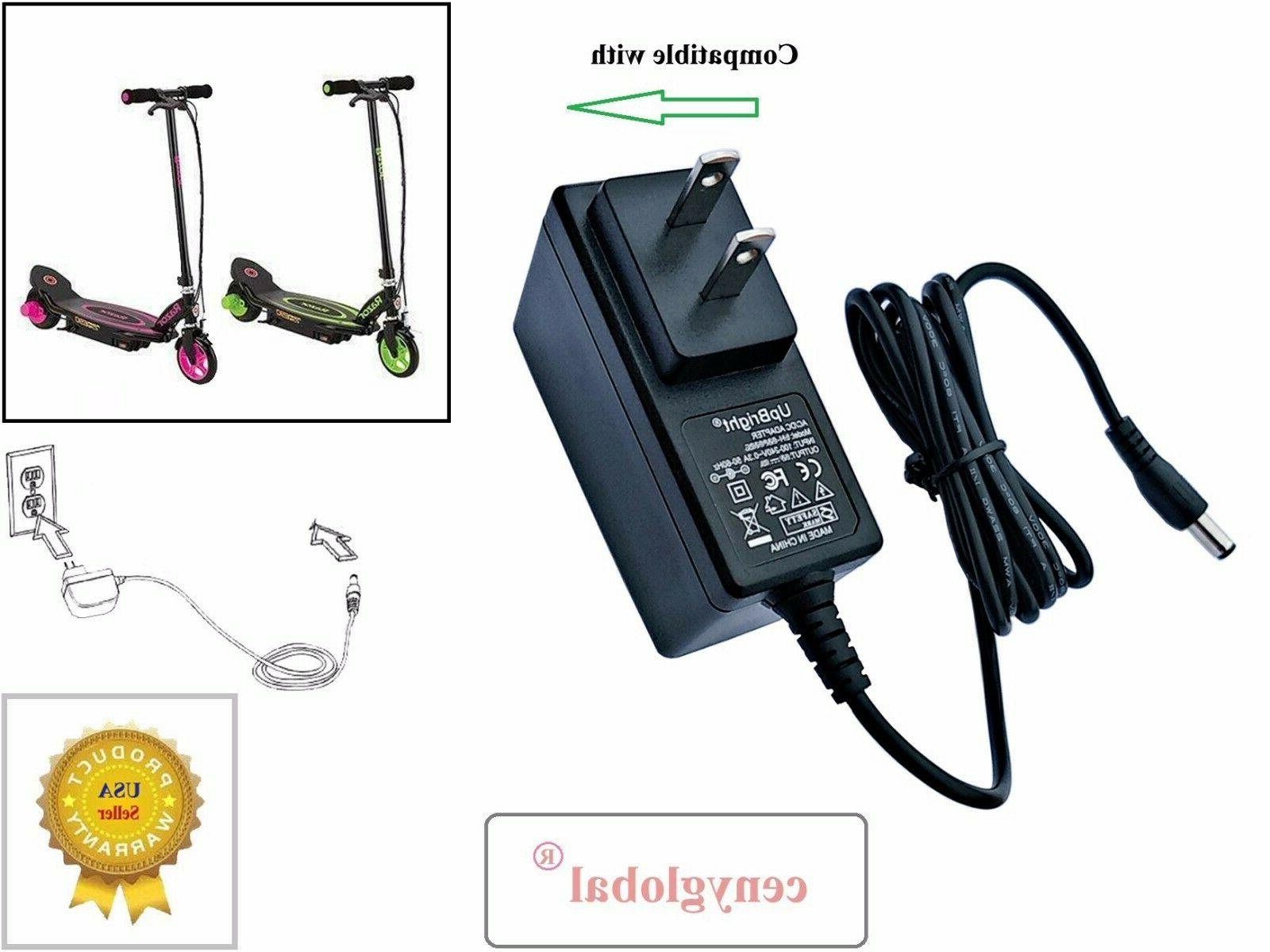 AC Adapter for Razor Kids Toy Motorized Electric Scooter 12V 1A Battery Charger