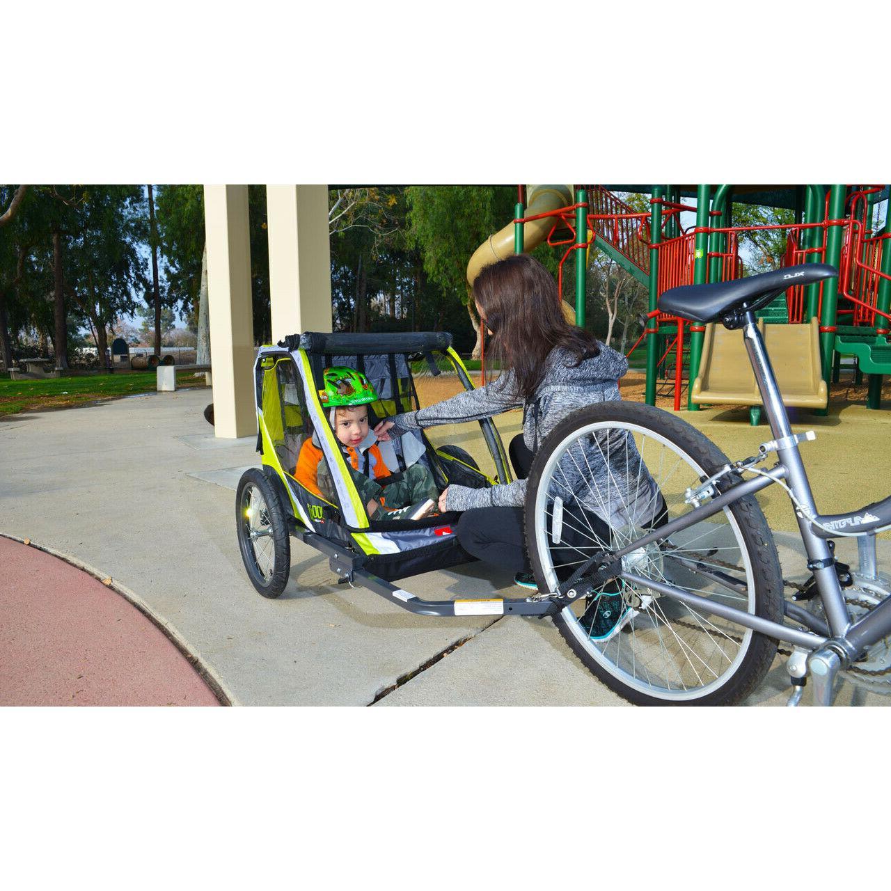 Green Lightweight Stroller