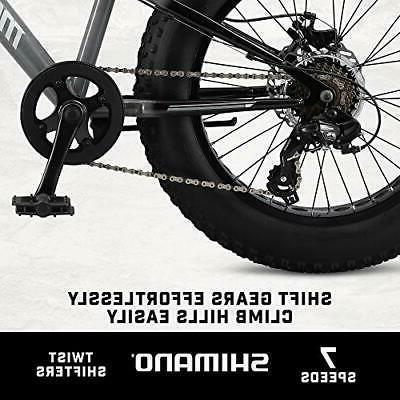 Mongoose Argus ST Fat Tire Bike, 20-Inch