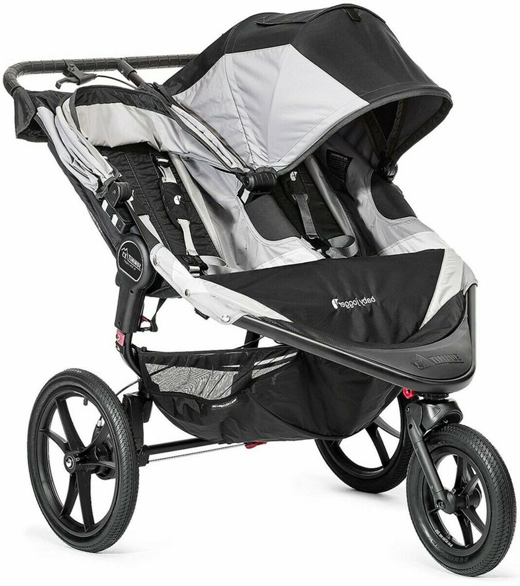 Baby Double Stroller Jogging