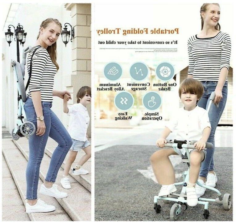 Baby Trolley Bike Ride-on Ultra-lightweight Folding Children