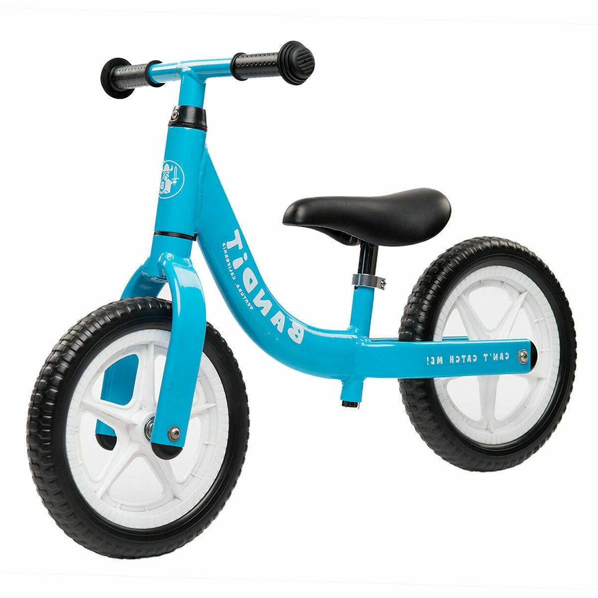Bandit Bicycles Balance Bike Never Flat Super for 1-6 Year