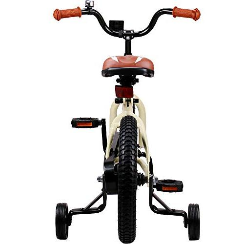 JOYSTAR Bike 5 & Girls, Unisex with Training Wheel, 85% Assembled
