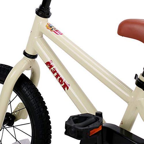 Bike 5 Years Girls, Unisex Child with Training Wheel, 85% Assembled