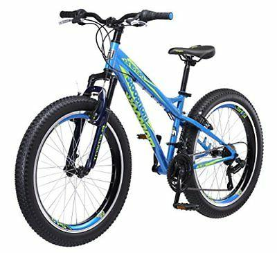 Mongoose Boys Bering 3 Fat Tire Bicycle 24