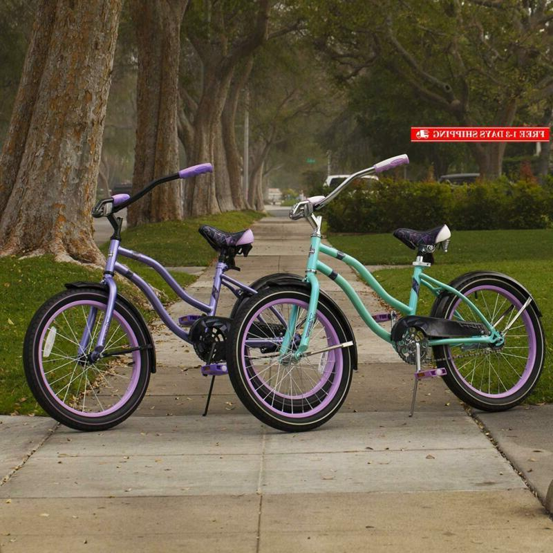 Huffy Huffy Kids Cruiser Bike For Girls, Teal