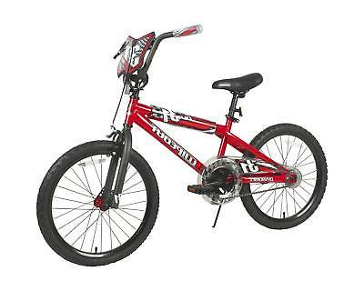 """20"""" Inch Red Freestyle Bmx Steel Frame for Cycling Riding"""
