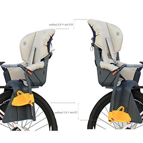 CyclingDeal Bicycle Kids Child Rear Baby Carrier USA Standard Adjustable Height