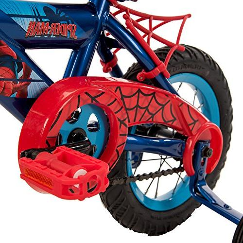 "12"" Marvel Bike by Huffy Blue/Red"