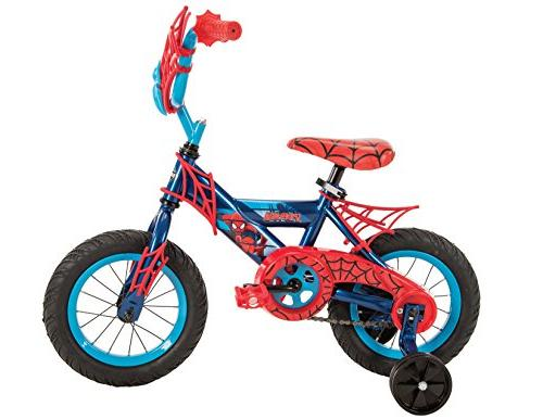 "12"" Marvel Spider-Man Bike Huffy Blue/Red"