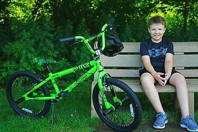 Madd 20 Kids BMX - Boys Bike, Green & Black