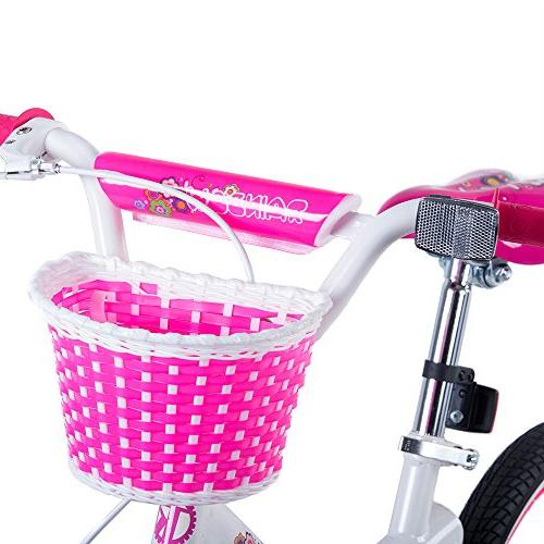 Tauki Girl's Training Wheels Gift inch,