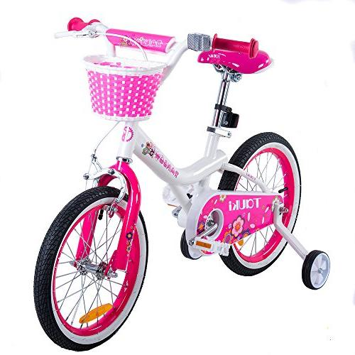 Tauki Girl's Training Wheels and Gift for inch,