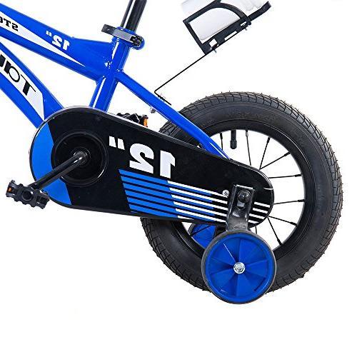 Tauki Kids BMX Bikes, 12 Street/Dirt Bike Brake and Training for 2 4 5 Boys 95%