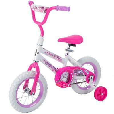 Bike Child Girl Huffy 12 Sea Star Single Speed W/ Coaster Br