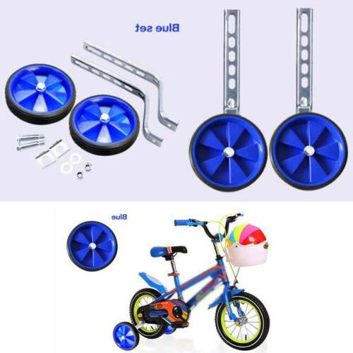 """New Bike Cycle Bicycle Children Kids Stabilisers 12- 20"""" Blu"""