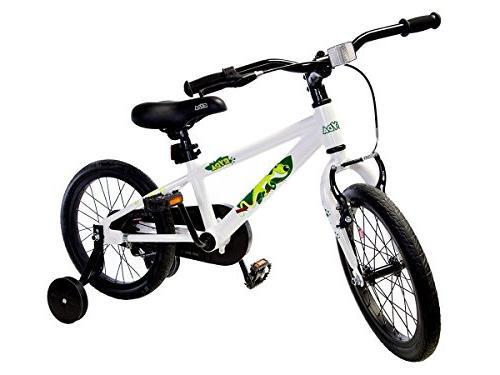 """Ryda Adventurer - 16"""" White Bike with Training and Airless"""
