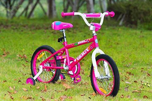 Tauki Bike Bike for Girls, 95% for 2-5 Years Old, Gift Kids