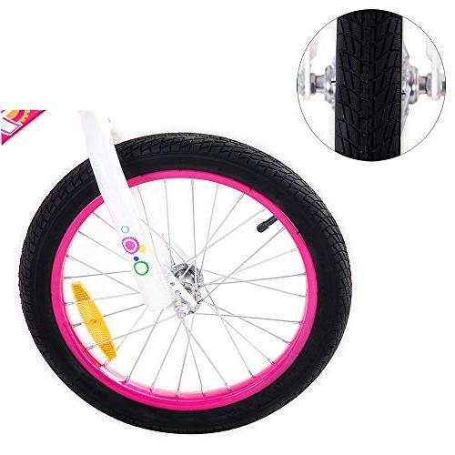 Tauki Bike Girls, 12 Pink, 95% Assembled, 2-5 Years Old, Gift Kids