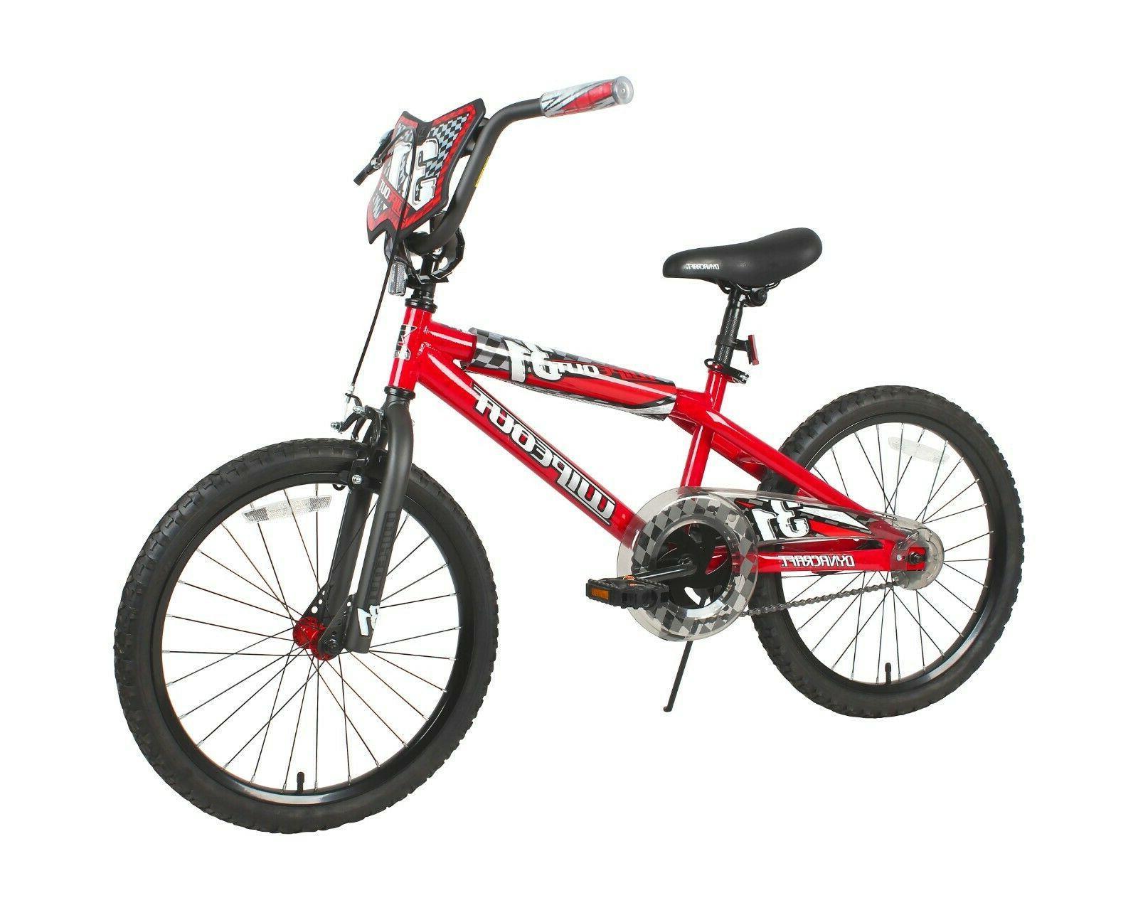 """20"""" Boys Girls Kids Bike Bicycle BMX Wipeout Brake Steel Kic"""