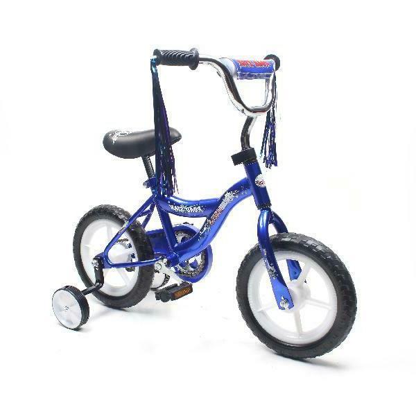 ChromeWheels BMX Bike 2-4 Years Old, Bicycle for