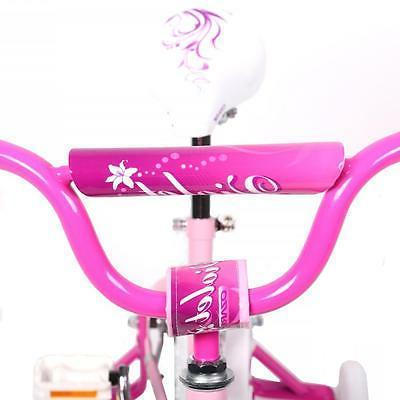 "16"" BMX Girls Kids Training Wheels Steel Frame 16G"