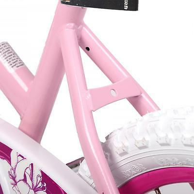 "16"" Children Girls Kids Bike Bicycle Training Wheels Frame 16G"