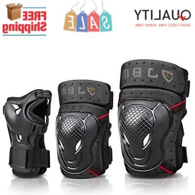 bmx bike knee elbow pads