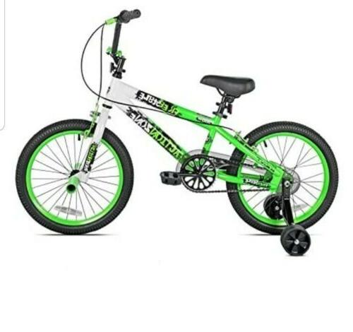 boys action zone bike 18 inches