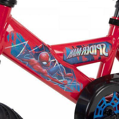 Boys Huffy Marvel Spider Bike For yrs Best Gift