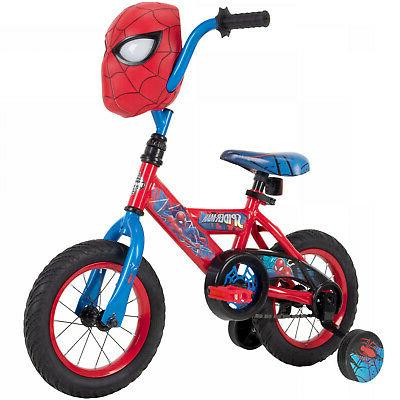 boys bicycle 12 inch huffy spider man