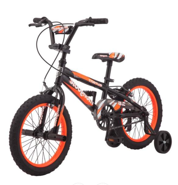 boys bike 16 inch mutant kids bmx