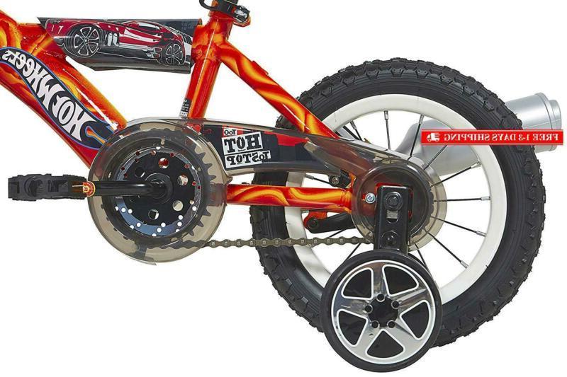 Hot Wheels Bike With Turbospoke, 12'', Red/Blue/Black