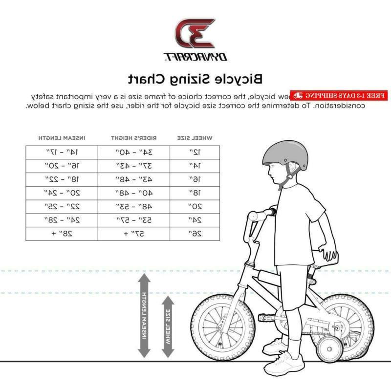 Hot Boys Dynacraft Bike With Turbospoke, Red/Blue/Black