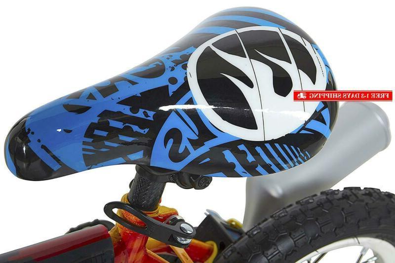 Hot Wheels Bike With Red/Blue/Black