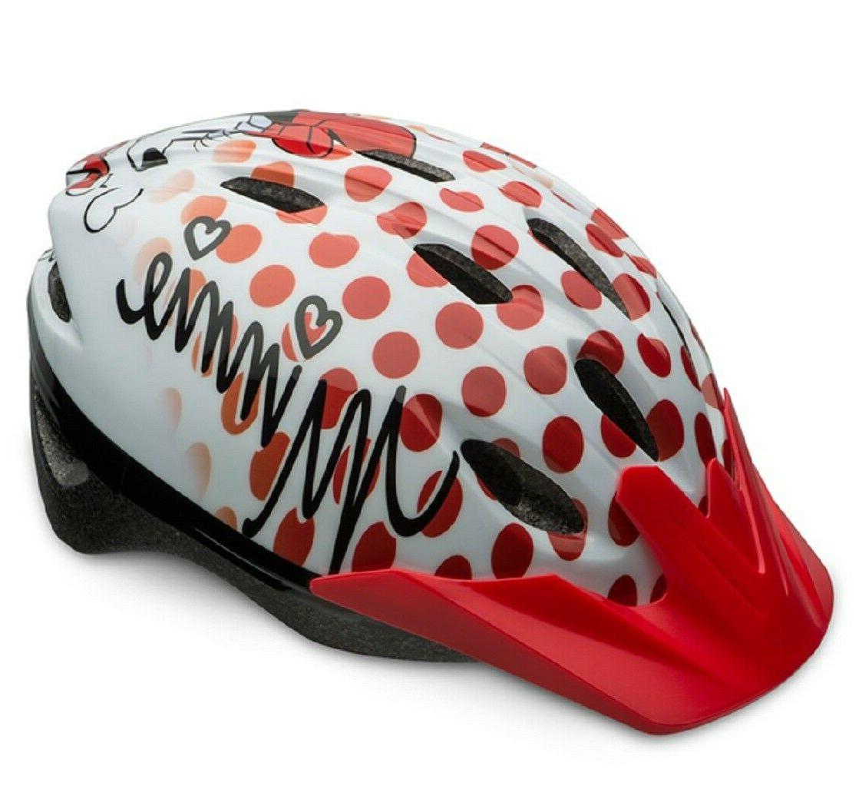 brand new disney minnie mouse bike helmet