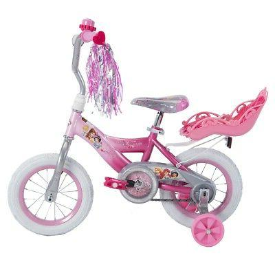 "Brand new Disney Princess 12"" Build Pink by Huffy"