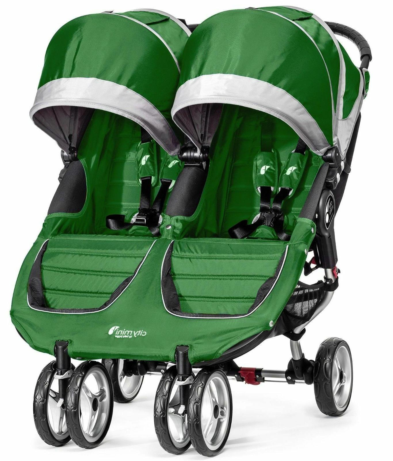 Baby Jogger Double Child Stroller Evergreen