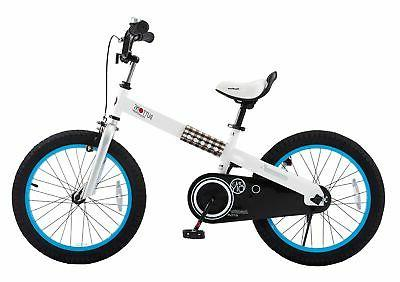 cubetube buttons 18 bicycle for kids blue