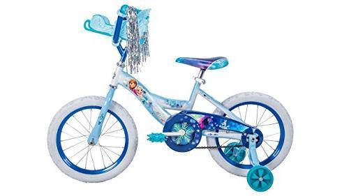 Girls inch Huffy Disney Frozen Bike Sleigh Carrier