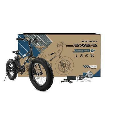 E-Bike Fat Tire Bike 350W High-speed Adults Gift