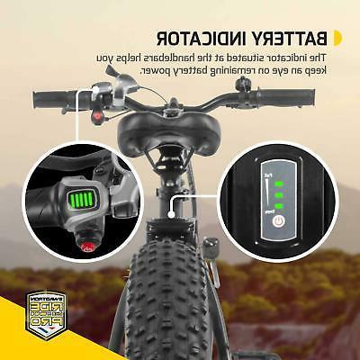 E-Bike Fat Tire Electric Bike 350W Adults Kids Children