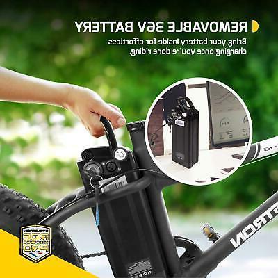 E-Bike Fat Tire Bike Adults Kids